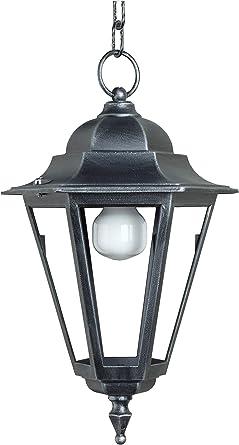lisb310 – Iluminación Exterior Jardín Farol Lámpara de techo – fabricado en Italia de Valastro Lighting: Amazon.es: Iluminación