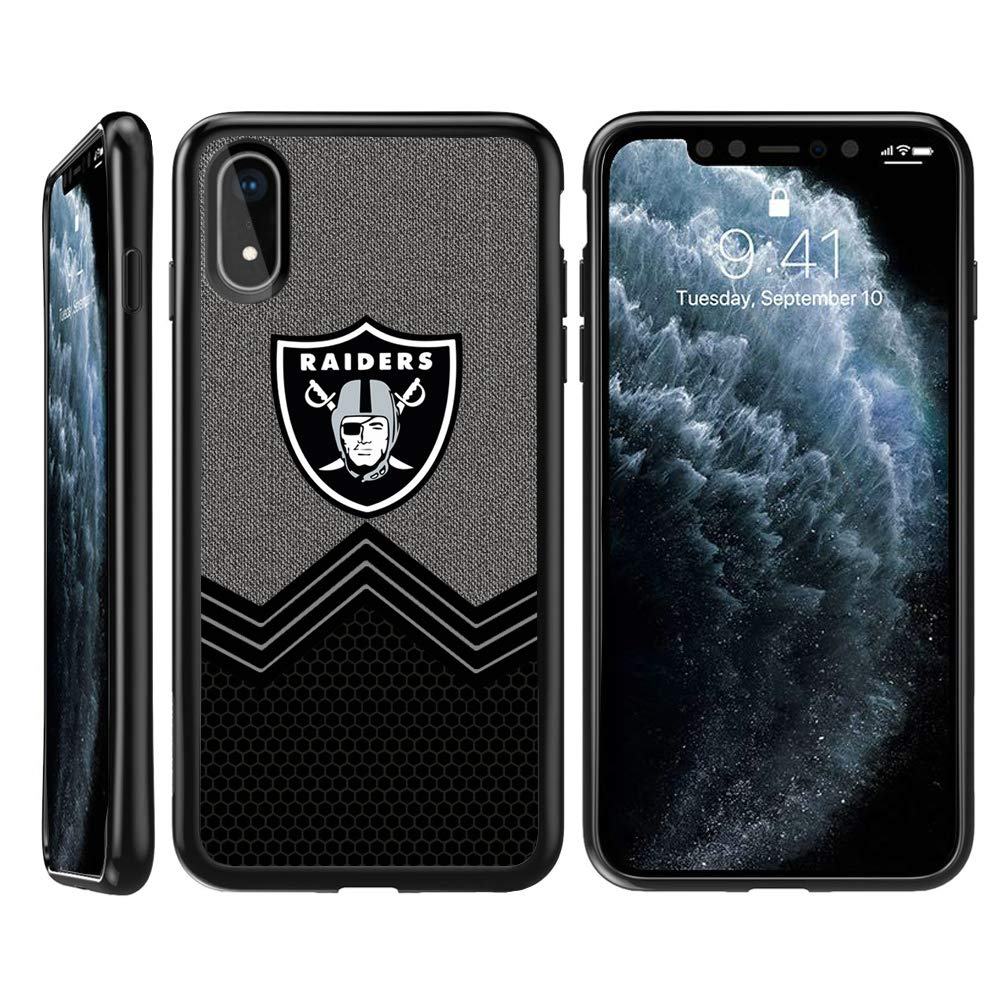 iPhone 11 Pro Case Raiders Raiders iPhone 11 Pro TPU Phone Case Cover Soft Flexible TPU Slim Thin Shockproof Bumper Protective Silicone Shell