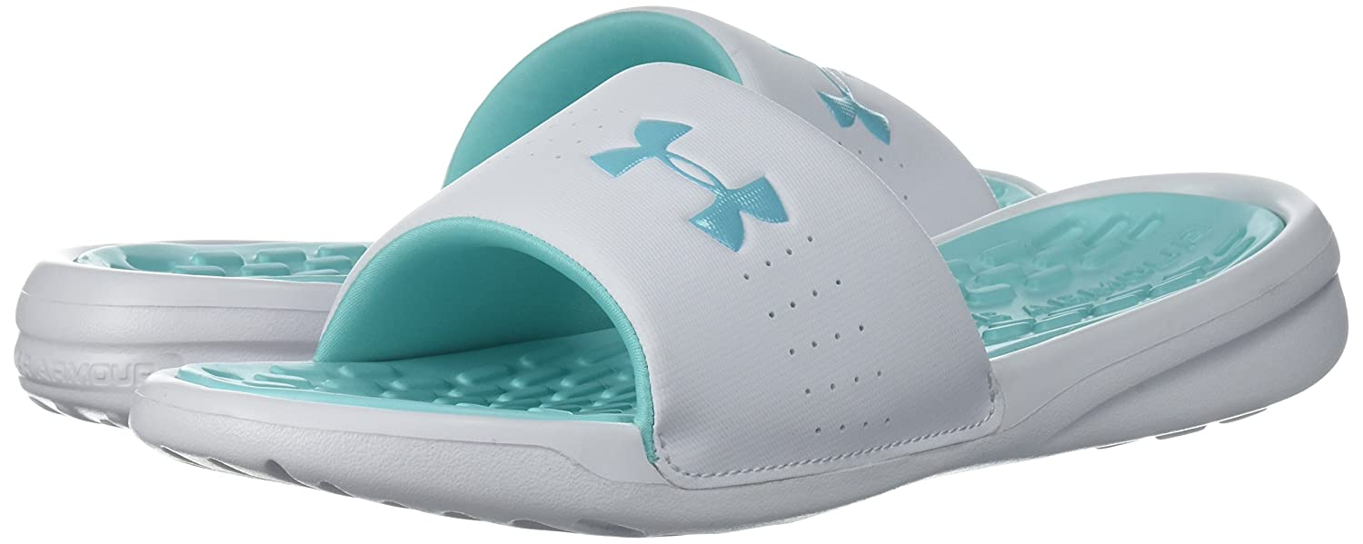 Under Armour UA W Debut Fix Fix Debut SL, Scarpe da Spiaggia e Piscina Donna Tropical Tide/Refresh Mint/White dc4bd2