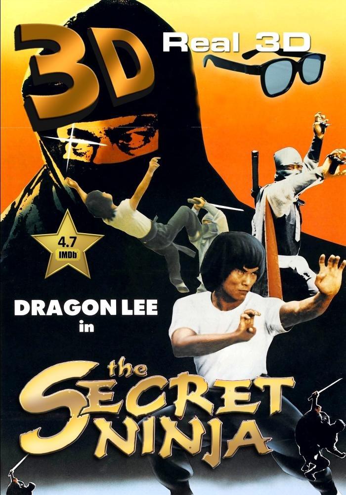 Amazon.com: Secret Ninja (1982) 3D (Real 3-D Side-By-Side ...