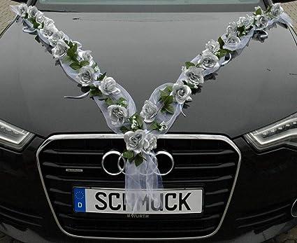 Auto-schmuck Guirnalda de Rosas para Novia, par, decoración ...