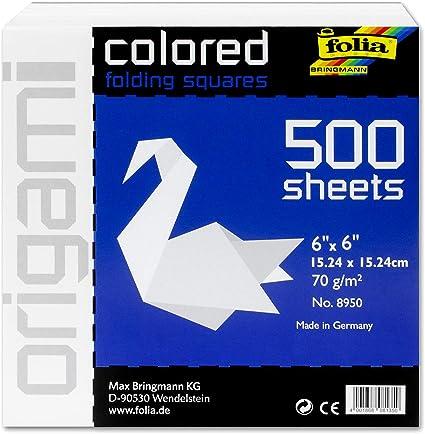 Speedball Art Products 8950 Folia 500 Sheet Origami Paper Bulk Pack, 6