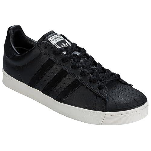 adidas Mens Originals Mens Superstar Vulc Adv Trainers in Black - UK 4.5   Amazon.co.uk  Shoes   Bags 16b6a5d4b