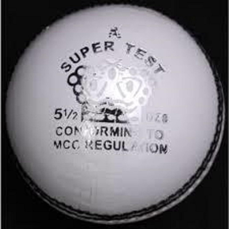 Ca deportes Liga especial pelota de críquet, color blanco: Amazon ...