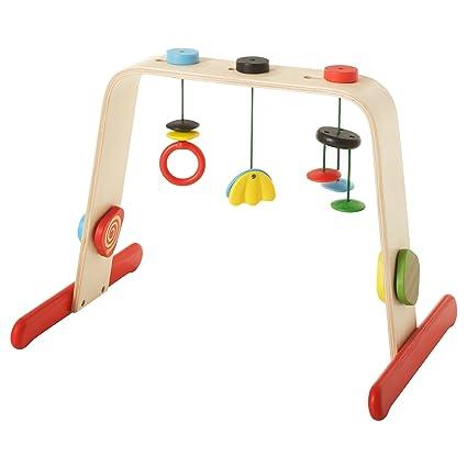 IKEA - Gimnasio para bebé (madera maciza de LEKA)