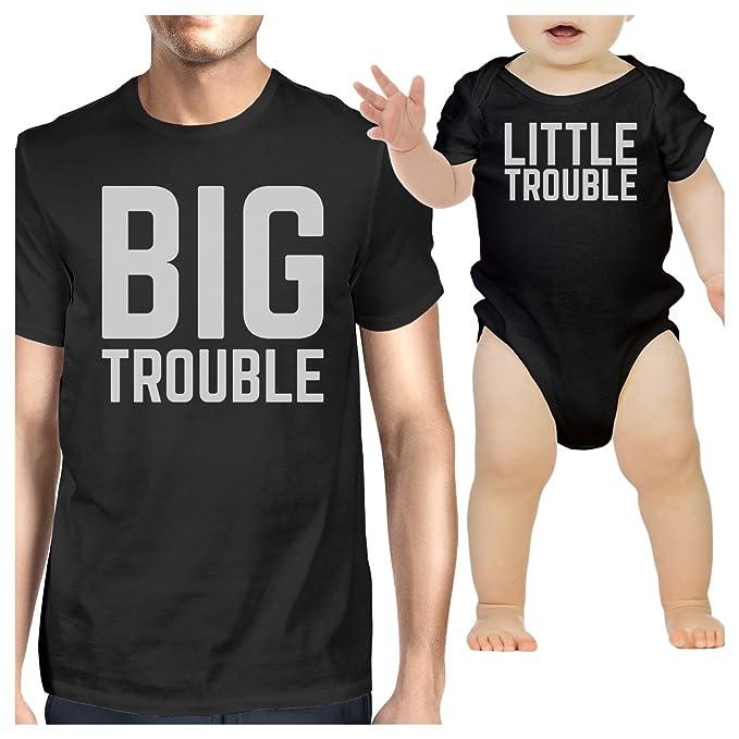 Amazon.com: 365 impresión Papá bebé a juego ropa diseño ...
