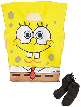 SpongeBob Squarepants Childs Costume, Medium