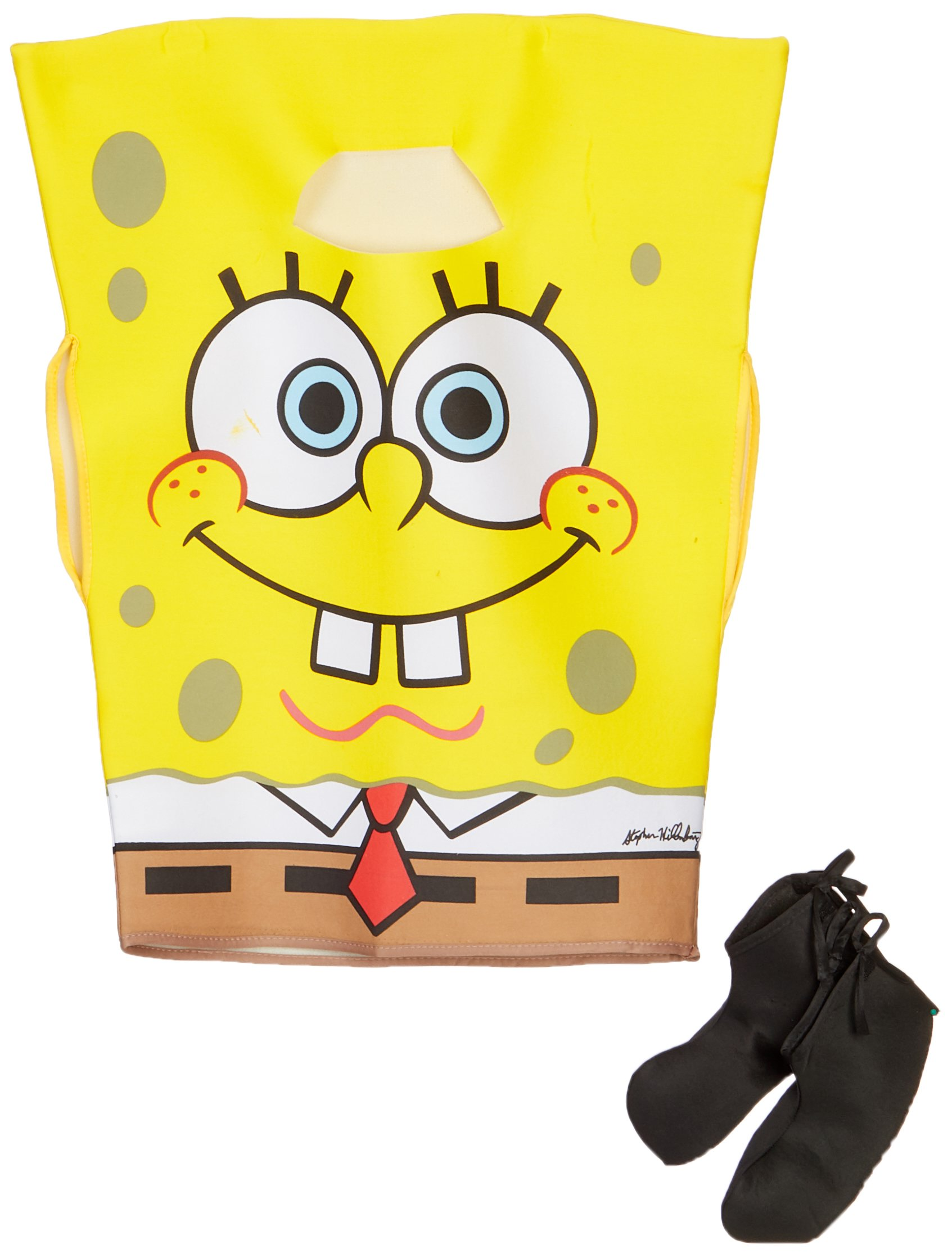 SpongeBob Squarepants Child's Costume, Medium