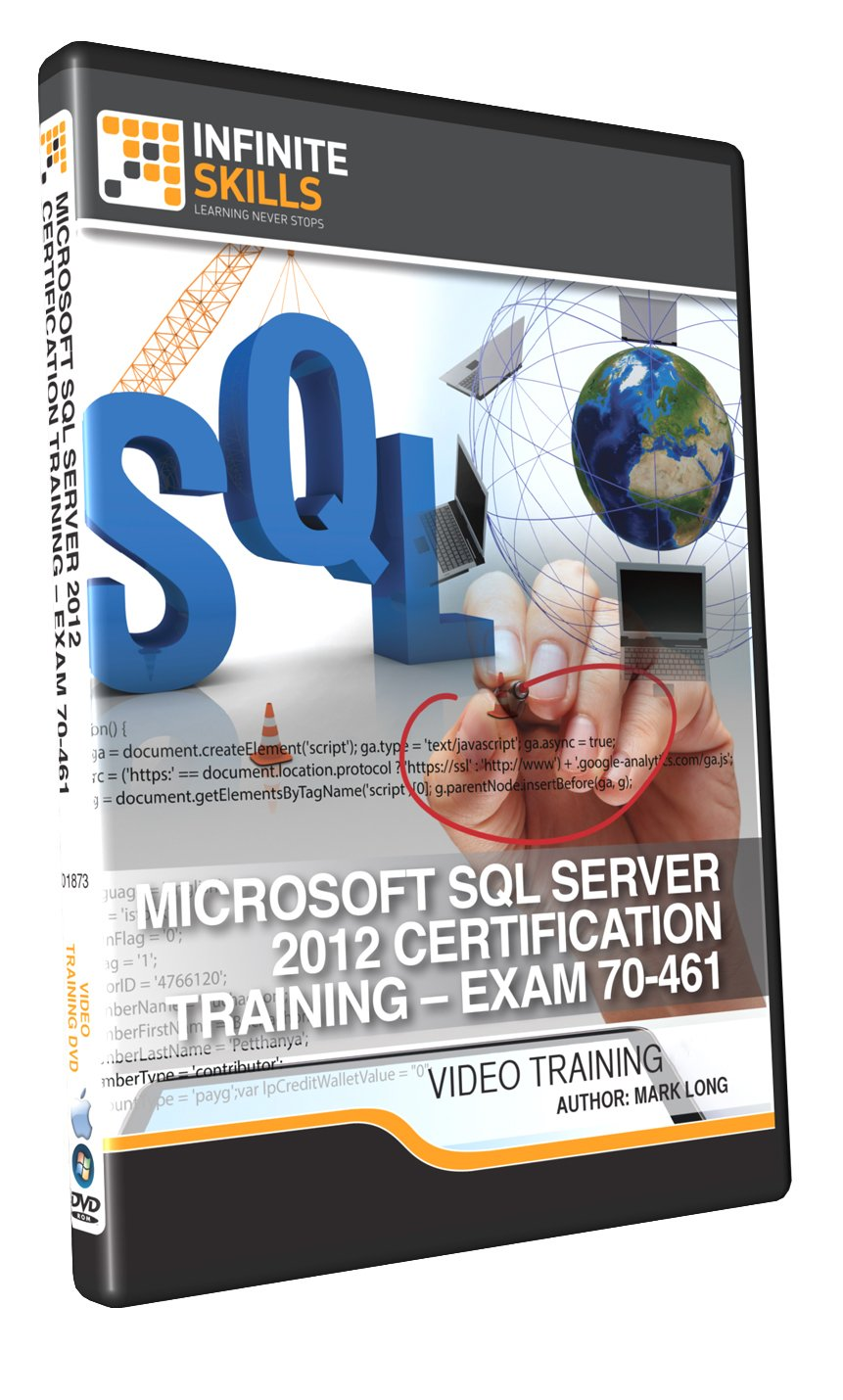 Amazon microsoft sql server 2012 certification training amazon microsoft sql server 2012 certification training exam 70 461 training dvd xflitez Gallery