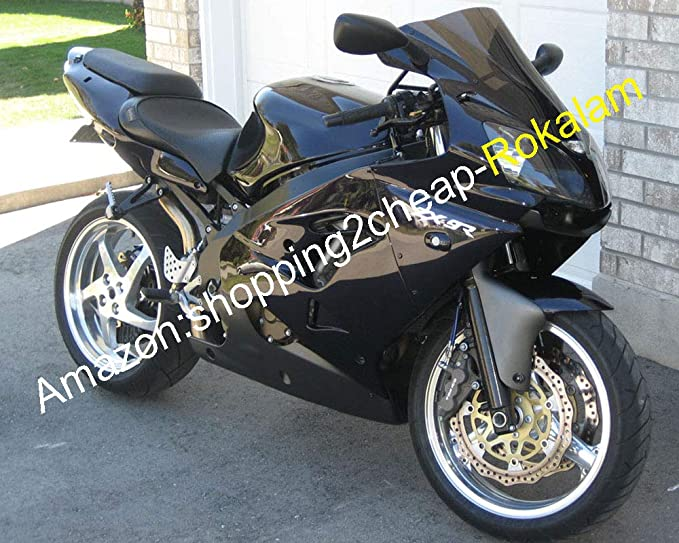 Sportbikefairings Gloss Black Corona Full Fairing Kit For ZX-9R 2000 2001 zx9r 00 01 ABS Plastic Compression Motorcycle Bodywork Fairings New Cowlings Covers
