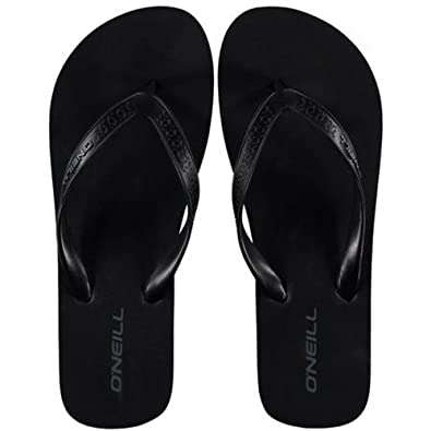 a050cec6693a O Neill Womens Ladies Basic 2 Contoured Flip Flops (4 UK) (Black Out ...
