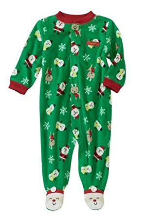 5204436e9c Child of Mine Made By Carter s Infant-boys Santa Sleep and Play (Newborn)