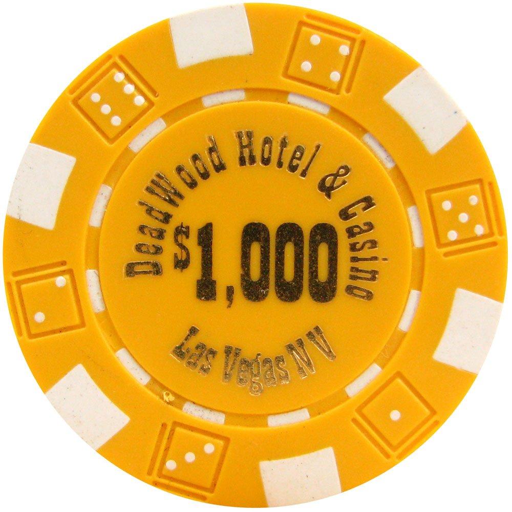 Trademark Poker Deadwood Hotel and Casino Poker Chips Trademark Global 10-1097-Parent