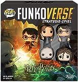 Funko 43477 Harry Potter 100 Funkoverse (4 karaktärer) brädspel, flerfärgad