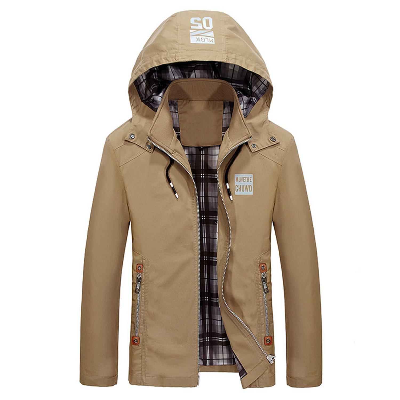 Amazon Com Meetloveyou Men Trench Coat Men Are Upscale In Winter