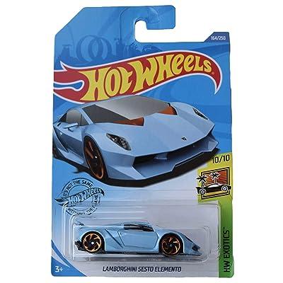 Hot Wheels Sesto Elemento 164/250, Blue: Toys & Games