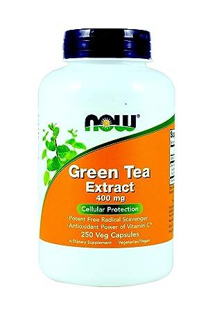 Now Foods, Green Tea Extract 400 mg 250 X 2