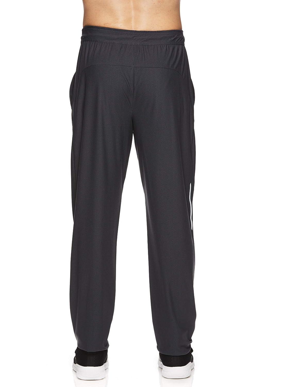 c651290b35641d Amazon.com: Reebok Men's Stride Track Pants - Performance Activewear  Running & Workout Bottoms - Ebony Stride, Small: Clothing