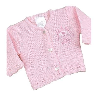 BabyPrem Prématuré Bébé Cardigan Gilet Manteau Tricoté Vêtement Prince Princesse