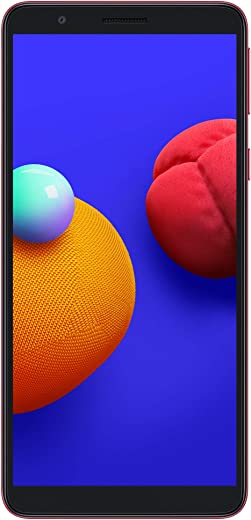 Samsung Galaxy M01 Core (Red, 2GB RAM, 32GB Storage) with...