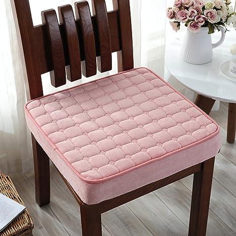 Amazon.com: QY y la felpa gruesa almohadilla de silla de ...