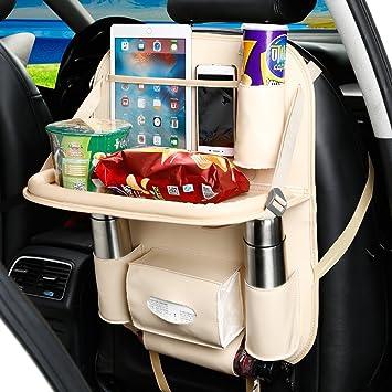 Amazon YOANKU Car Backseat Organizer With Dining Table