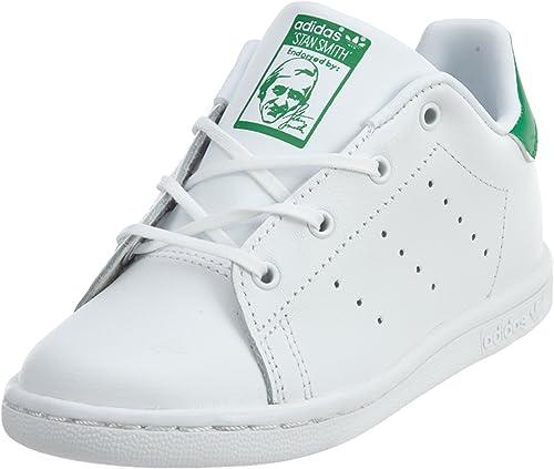 Ajustarse menta Lluvioso  Amazon.com: adidas Originals Infant Stan Smith Sneaker: Shoes