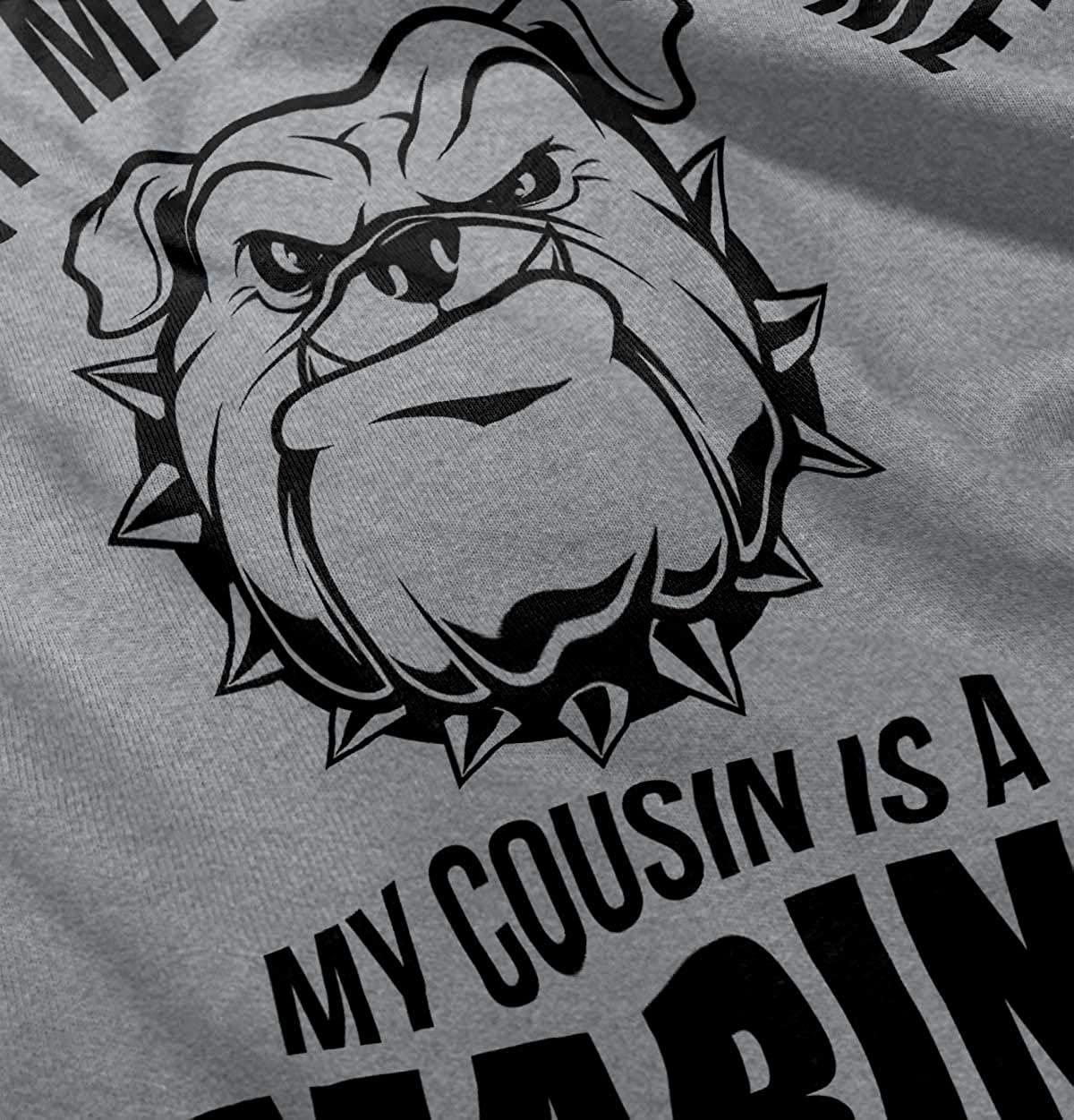 c5871dd7051 Amazon.com  Dont Mess with Me Cousin A Marine Military Infant Toddler T  Shirt  Clothing