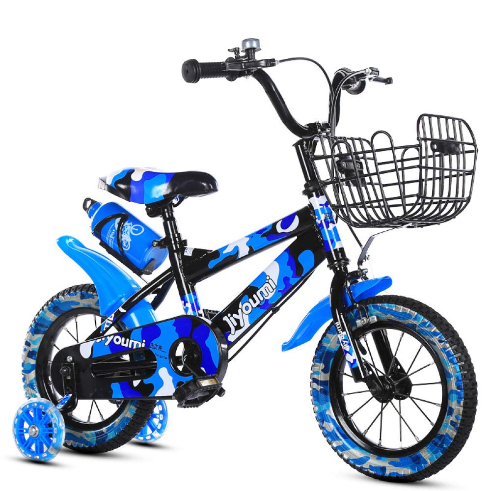 Defect Bicicletta Bambini Mountain Bike Boy Single 3-6 Anni di Bici per Bambini con la Bici della rossoella di Lampo