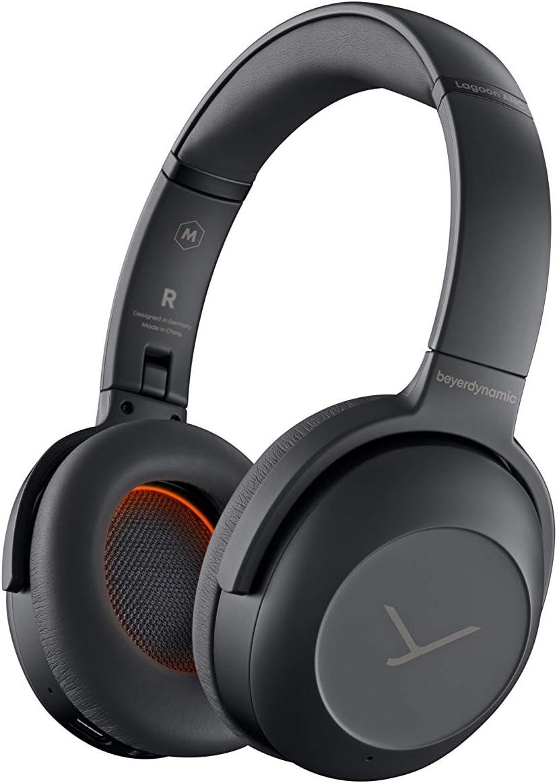 beyerdynamic Lagoon ANC Traveller Bluetooth Headphones with ANC and Sound Personalization Black