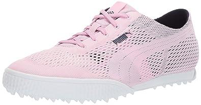 PUMA Golf Women s Monolite Cat Woven Golf Shoe 78f2827621f