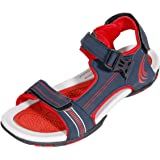 IndiWeaves Mens Red Super Comfortable Casual Sandal-Size-9