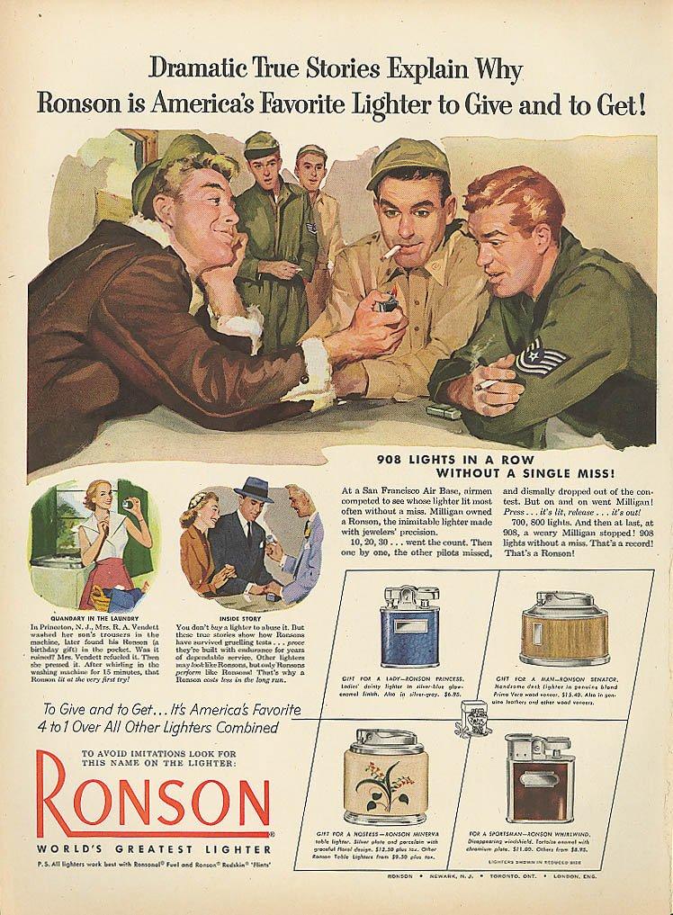 Dating Ronson lightere