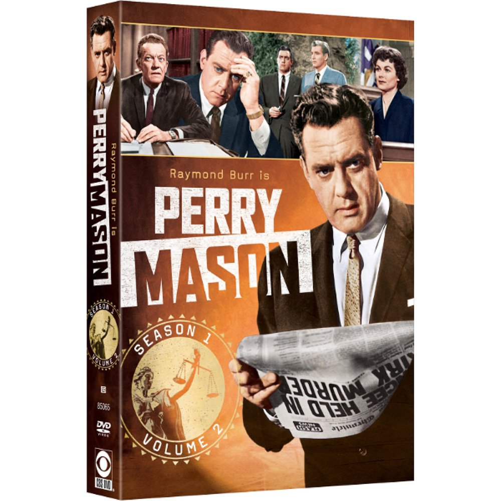 DVD : Perry Mason: Season 1 Volume 2 (Full Frame, Black & White, 5 Disc, Sensormatic)