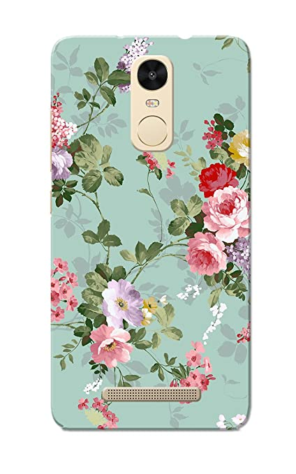 best sneakers 0650d 5dc45 Caseria Floral Slim Fit Hard Case Cover/Back Cover For Xiaomi Mi Redmi Note  3