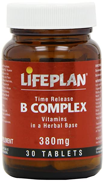 Lifeplan B Complex Time Release - 30 Tablets
