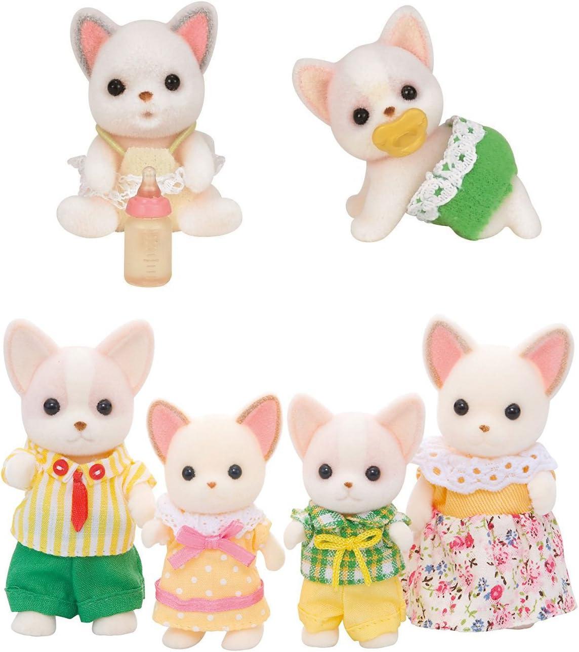 97 JP Epoch Calico Critters dolls Chihuahua twins i