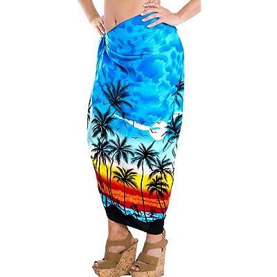 *La Leela* enveloppez bain dames station de maillot de bain sarong femmes beachwear bikini couvrir maillots de bain
