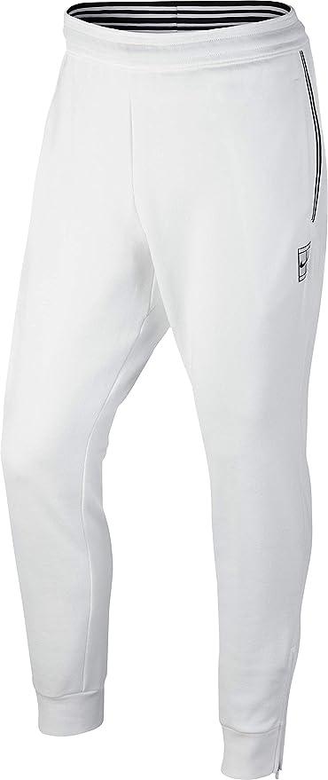 nike pantalon blanc
