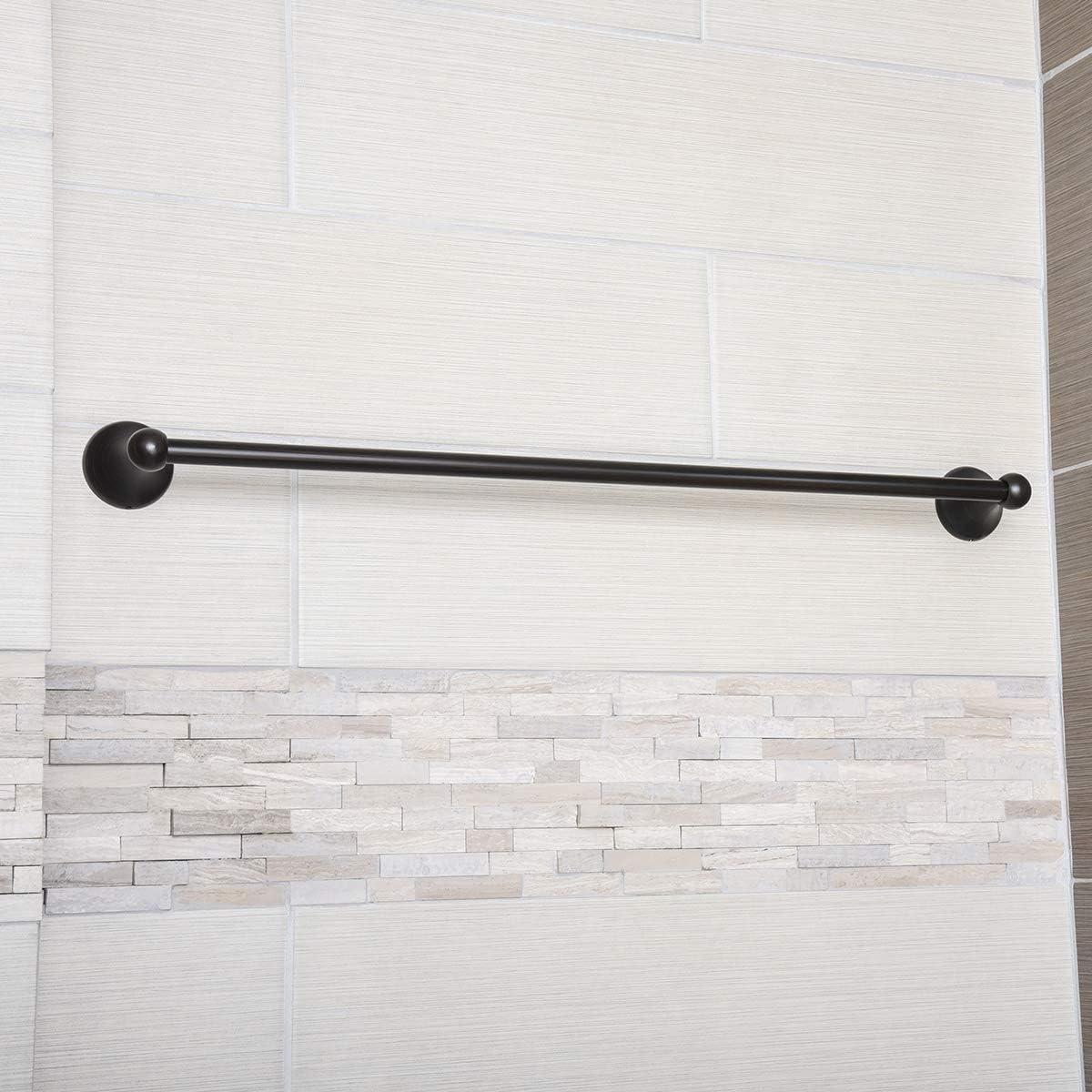 Basics Toallero de barra cromo pulido estilo est/ándar 45,7/cm