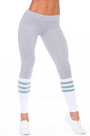 d1626517cf744 Bombshell Sportswear Sock Leggings - Platinum (XS) at Amazon Women's  Clothing store: