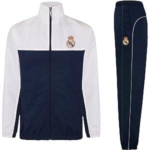 Real Madrid - Chándal Oficial para Hombre - Chaqueta y pantalón Largo 283a4b0c123
