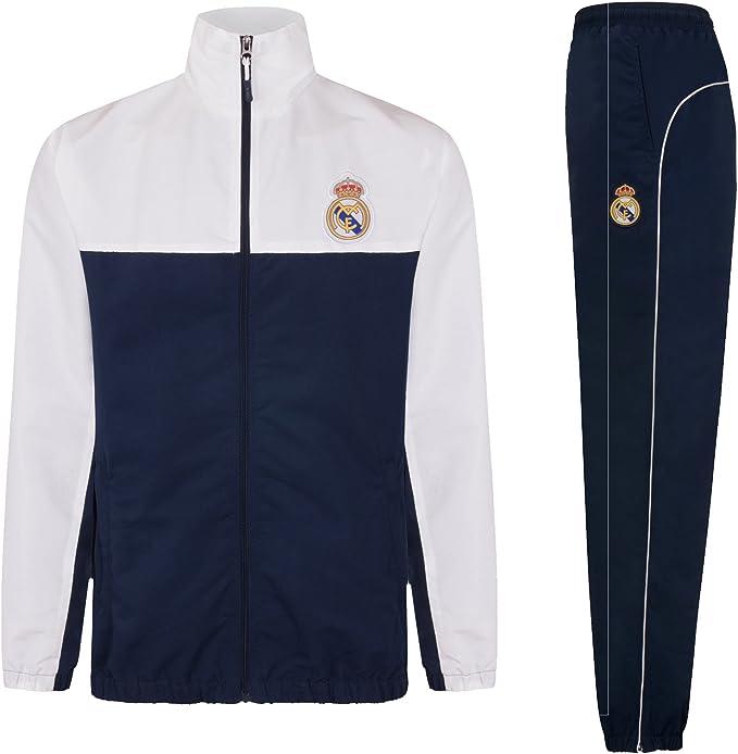 Real Madrid - Chándal Oficial para niño - Chaqueta y pantalón ...