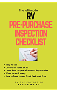 RV Checklists, the Original, is our NUMBER 1 SELLER!