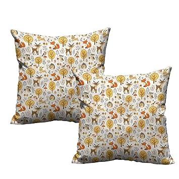 Amazon.com: HeKua - Funda de almohada con diseño de oso ...