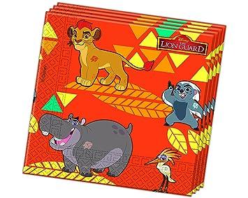 20 Servilletas El REY León de Disney para Cumpleaños niños o Fiesta temática fiesta Servilletas fiesta