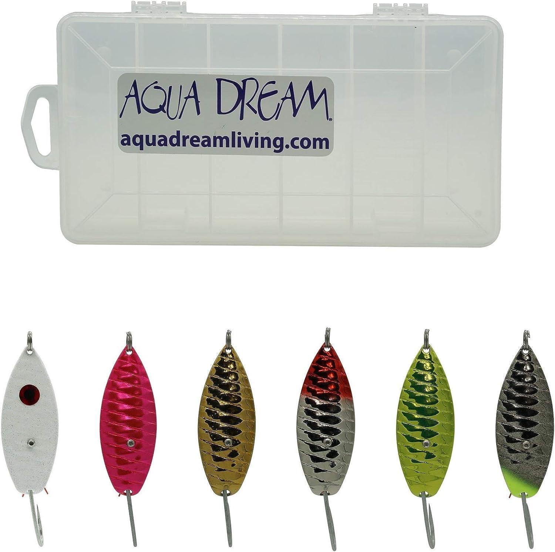 Aqua Dream Classic Weedless Spoon Kit 6pc