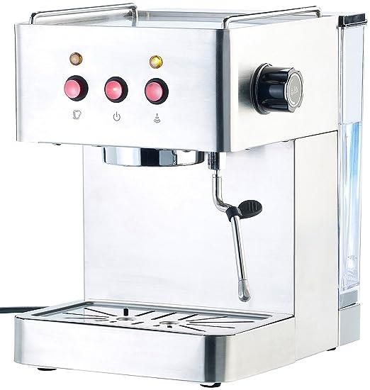 Cucina di Modena ES-800 - Cafetera espresso de 1300 con espumador ...