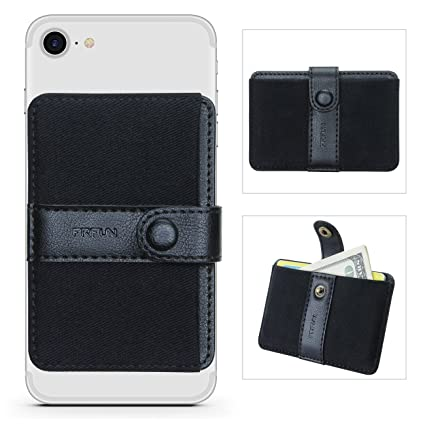 Cell Phone Card Holder >> Phone Card Holder Ultra Slim Self Adhesive Stick On Credit Card Wallet Cell Phone Wallet With Pocket For Credit Card Id Business Card Iphone