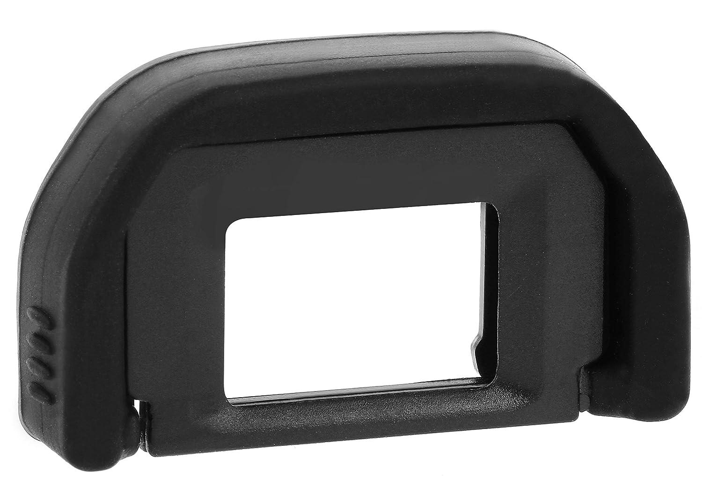 COM-FOUR – Repuesto – Portaocular para Canon EOS 700d 650d 600d 550d 1000d 1100d/450d 400d 350d (Pack de 2)